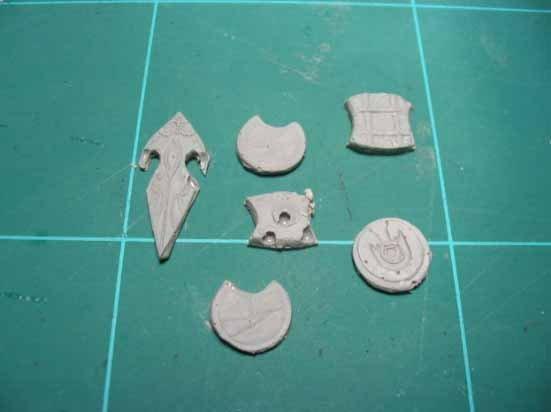 Reproducción de escudos