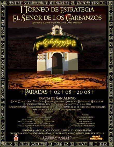 Torneo El Señor de los Anillos en Sevilla I_torneoLGDA_sevilla01