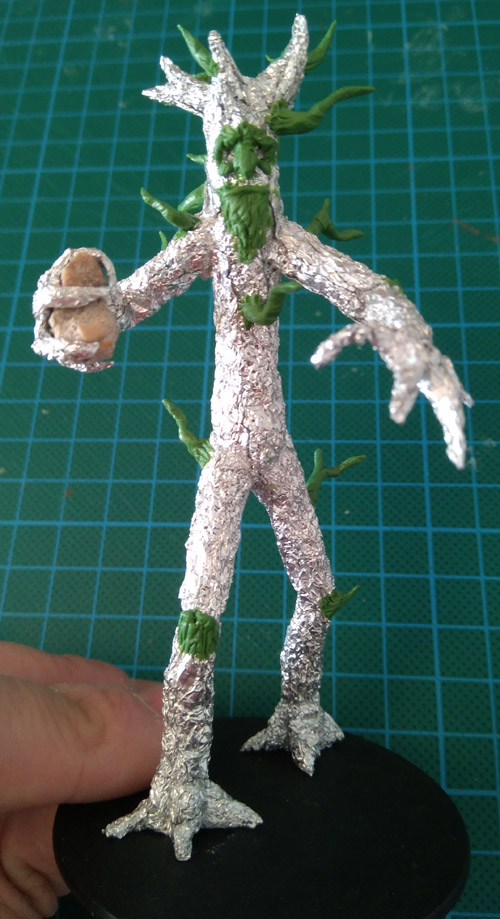 Masilla verde