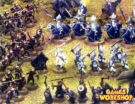 Gandalf enfrentándose a Khamul