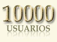 10000 usuarios registrados